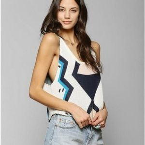 Somedays Lovin Kumasi Soft Knit Sweater Crop Tank
